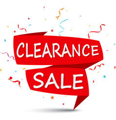 Clearance / Special Offers